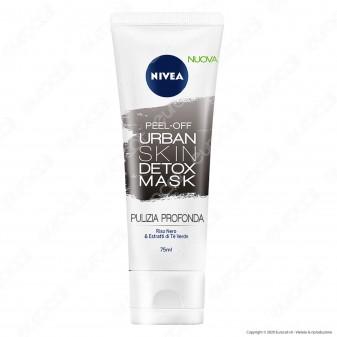 Nivea Urban Skin Detox Mask Opacizzante - Maschera per il viso - Flacone da 75ml