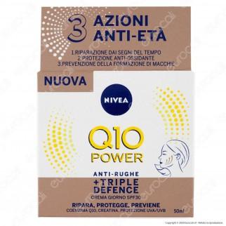 NIVEA Q10 Power Antirughe + Triple Defence Crema Giorno SPF 30 - 50 ml