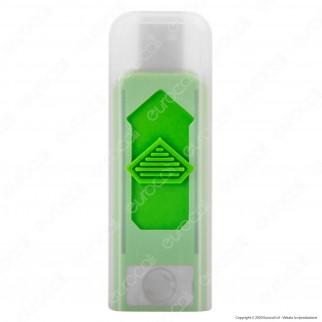 Champ Styled Accendino USB Ricaricabile Antivento - Box di 18 Accendini