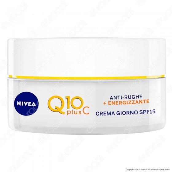 Nivea Q10 Plus C Anti Rughe + Energizzante Crema Giorno SPF15 - Confezione da 50 ml