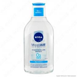 Nivea Micellair Acqua Micellare Idratante Detergente Pelli Normali - Flacone da 400ml