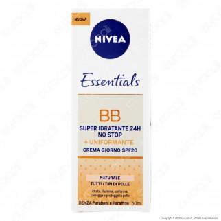 Nivea BB Idratante Uniformante Crema Giorno SPF20 Naturale