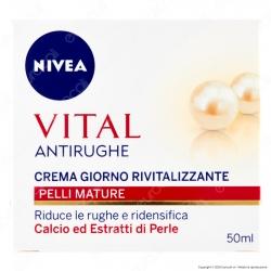 Nivea Vital Crema Giorno Antirughe Rivitalizzante - Confezione da 50ml