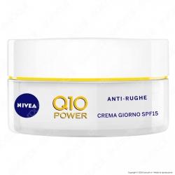 Nivea Q10 Power Crema Giorno Anti-Rughe Rassodante e Tonificante SPF15 - Confezione da 50ml