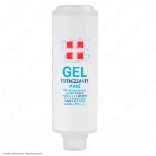 Ricarica per Dispenser a Muro Flacone Gel Alcool ≥ 70% Igienizzante Mani con Antibatterico - 300ml