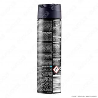Nivea Men Black & White Invisible Active Spray Deodorante Antitraspirante