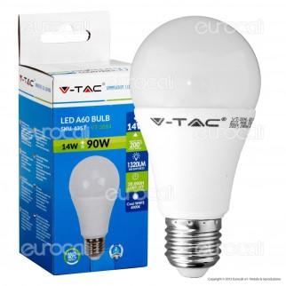 V-Tac VT-2014 Lampadina LED E27 14W Bulb A60 - 4355 / 4356 / 4357