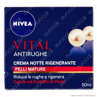 Nivea Vital Crema Notte Antirughe Rigenerante