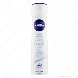 Nivea Pure Invisible Deodorante Spray Antitraspirante - Flacone da 150 ml