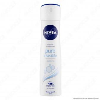 Nivea Pure Invisible Spray - Flacone da 150ml