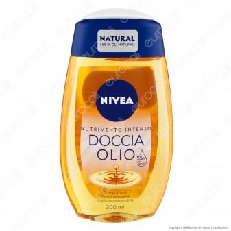 Nivea Doccia Olio Natural Nutrimento Intenso - Flacone da 200ml