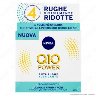 Nivea Q10 Power Antirughe + Levigante Crema Giorno SPF15