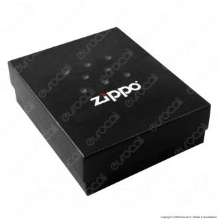 Custodia Zippo Harley-Davidson® in Vera Pelle per Accendini mod. HDP6 Colore Nero