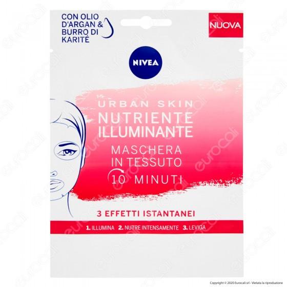 Nivea Urban Skin Maschera Nutriente Illuminante - Monouso - Confezione da 1pz