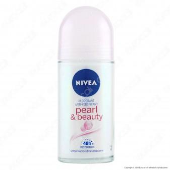 Nivea Deodorante Roll-On Pearl & Beauty Anti-Traspirante - Flacone da 50ml