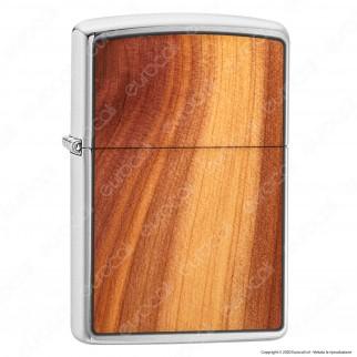 Accendino Zippo Mod. 29900 Woodchuck™ Cedar - Ricaricabile Antivento