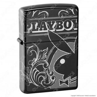 Accendino Zippo Mod. 49085 Playboy 360° - Ricaricabile Antivento