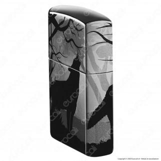 Accendino Zippo Mod. 49188 Wolf 3D - Wolves Design- Ricaricabile Antivento