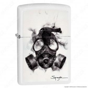 Accendino Zippo Mod. 29646 Spazuk Gas Mask - Ricaricabile Antivento