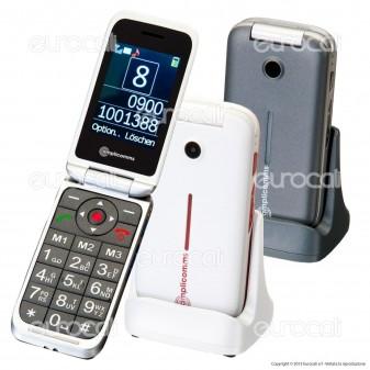 Amplicomms PowerTel M7000i Telefono Cellulare per Portatori di Apparecchi Acustici