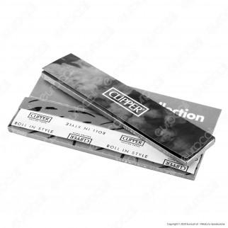PROV-A00182010 - Cartine Clipper Argento King Size Slim Lunghe - Scatola da 50 Libretti [TERMINATO]