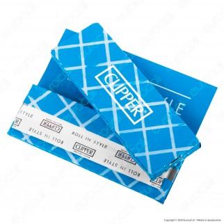 PROV-A00184002 - Cartine Clipper Blu Corte - Scatola da 100 Libretti
