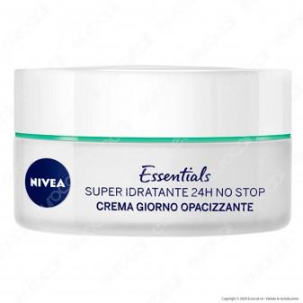 Nivea Essentials Crema Giorno Opacizzante Super Idratante - Barattolo da 50 ml
