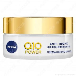 Nivea Q10 Power Antirughe Crema Giorno Extra-Nutriente SPF15 - Confezione da 50ml