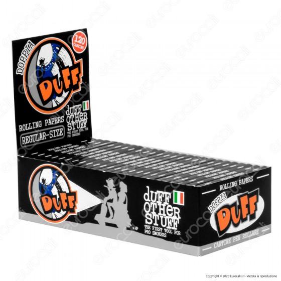 PROV-A00195007 - Cartine Duff Nere Corte Doppie - Scatola da 25 Libretti