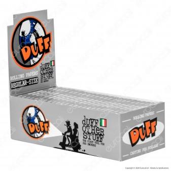 PROV-A00196002 - Cartine Duff Silver Corte Argento - Scatola da 50 Libretti