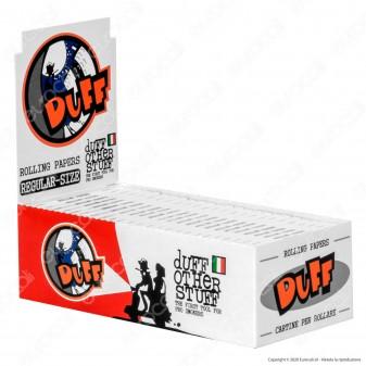 PROV-A00198002 - Cartine Duff White Corte Bianche - Scatola da 50 Libretti