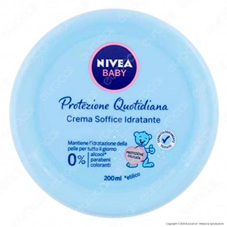 Nivea Baby Crema Soffice Idratante Protezione Quotidiana - Confezione da 200ml
