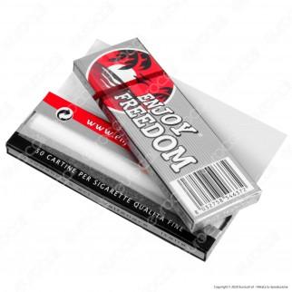 PROV-A00206002 - Cartine Enjoy Freedom Silver Corte - Scatola da 100 Libretti