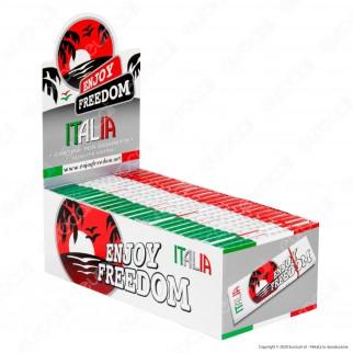 PROV-A00208002 - Cartine Enjoy Freedom Small Size Corte Italia - Scatola da 50 Libretti