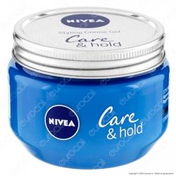 Nivea Care & Hold Styling Creme Gel Modellante Capelli Corti Senza Residui - Confezione da 150ml