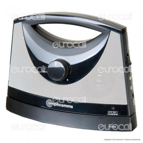 Amplicomms TV SoundBox Altoparlante per TV Wireless per Portatori di Apparecchi Acustici