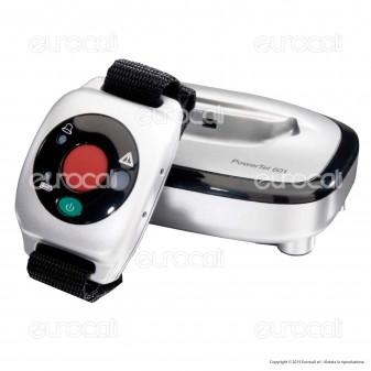 Amplicomms PowerTel 601 Alarm Bracciale SOS a Vibrazione per Portatori di Apparecchi Acustici