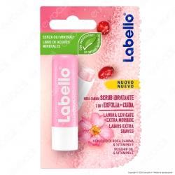 Labello Scrub Idratante Rosa Canina Balsamo Labbra Burrocacao - Confezione da 1pz