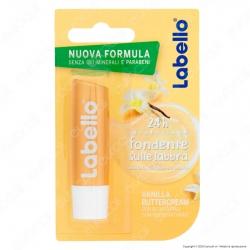 Labello Vanilla Buttercream Balsamo Idratante Labbra Burrocacao - Confezione da 1pz