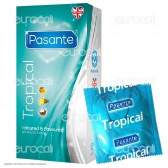 Preservativi Pasante Tropical - Scatola 12 pezzi