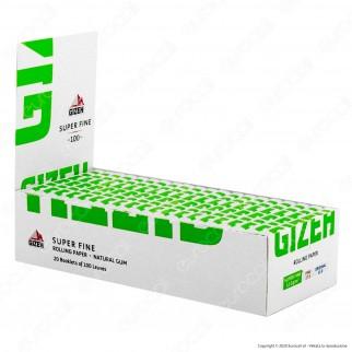 PROV-A00220005 - Cartine Gizeh Super Fine Corte Doppie Libretto Magnetico - Scatola da 20 Libretti