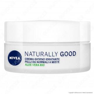 Nivea Naturally Good Crema Giorno Nutriente - Confezione da 50ml