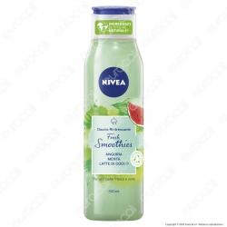 Nivea Doccia Rinfrescante Fresh Smoothies Anguria Menta e Latte di Cocco - Flacone da 300ml