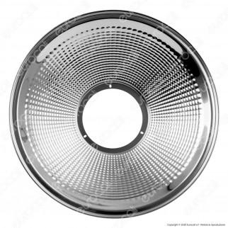 V-Tac Diffusore in Alluminio 120° Riflettente Campana Compatibile con Lampade Industrali High Bay - SKU 571