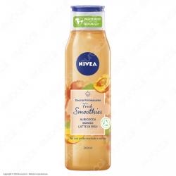Nivea Doccia Rinfrescante Fresh Smoothies Albicocca Mango e Latte di Riso - Flacone da 300ml