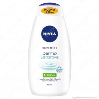 Nivea Dermo Sensitive Bagnodoccia - Flacone da 650ml