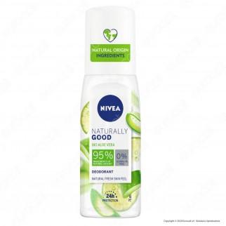 Nivea Naturally Good BIO Aloe Vera Deodorante Spray - Flacone da 75ml