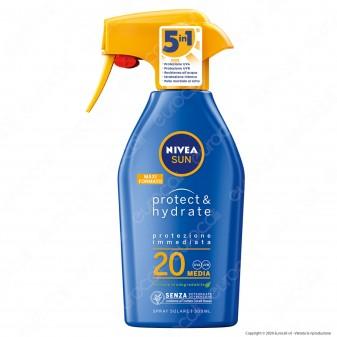 Nivea Sun Spray Solare Protect & Hydrate SPF 20 - Flacone da 300ml