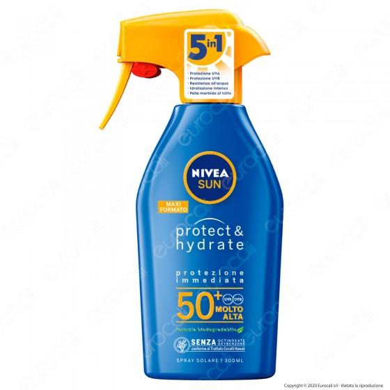 Nivea Sun Spray Solare Protect & Hydrate FP 50+ - Flacone da 300ml