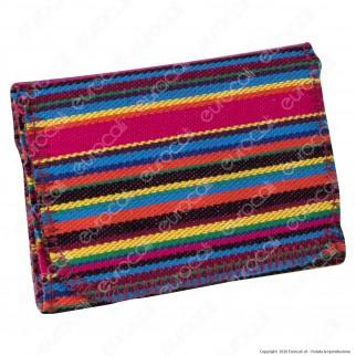 Atomic Tobacco Pouch Mini Indian Astuccio Portatabacco in Tessuto Multicolore